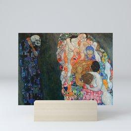 """Gustav Klimt """"Death and Life"""" Mini Art Print"""