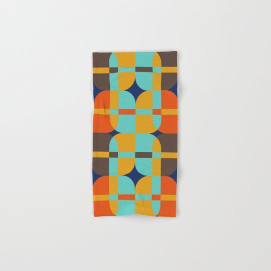 Geometric#20 Hand & Bath Towel