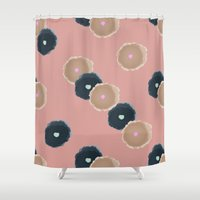 sydney Shower Curtains featuring Sydney by Anh-Valérie