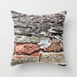 Tuscan Bricks Throw Pillow