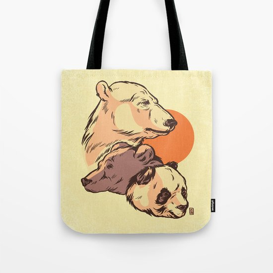 We Bare Bears Tote Bag