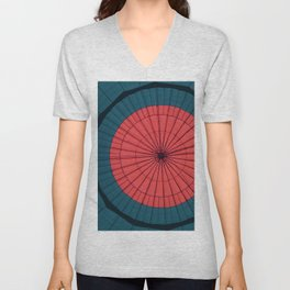 Spider Web Unisex V-Neck