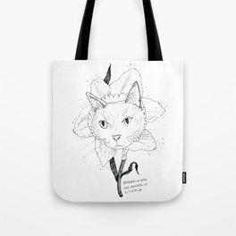 Catffodil Tote Bag