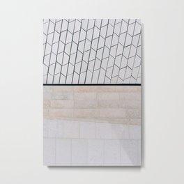 MAAT Lisbon  ᝢ fine art architecture wall texture photo Portugal Europe photography art print Metal Print