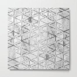 CONFUSION Metal Print