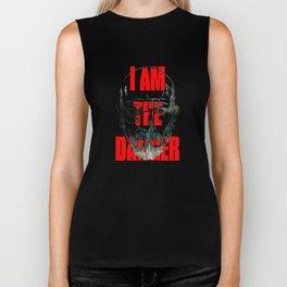 I am the Danger Biker Tank