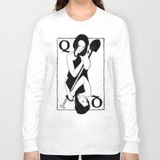 Queen of Spades Long Sleeve T-shirt
