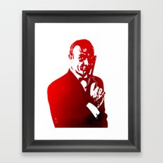 James Bond - Red or Dead Framed Art Print