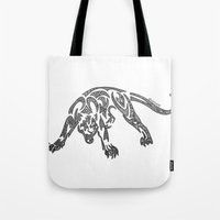 courage Tote Bags featuring Courage by Larissa