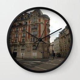 Au coin (Paris) Wall Clock