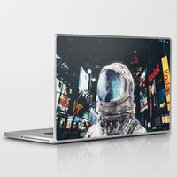 Laptop Skins featuring Night Life by Seamless