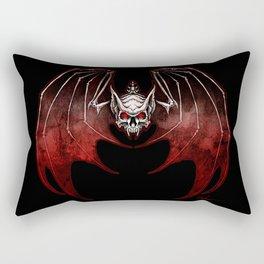 Thee Vampire Guild Bat Icon Rectangular Pillow