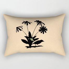 Maryland - State Papercut Print Rectangular Pillow