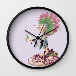 Who said punks can't be cute? Wall Clock