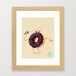 Baked to Rule Framed Art Print