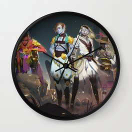 The Cast of Loom Wall Clock
