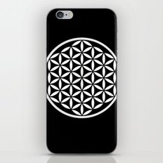 Flower of Life Yin Yang iPhone Skin