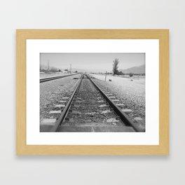 Tracks to Anywhere Framed Art Print