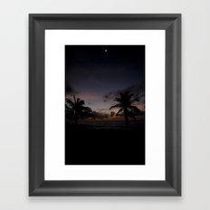Noite Framed Art Print