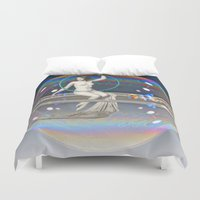 bath Duvet Covers featuring Bath Time by mentalembellisher