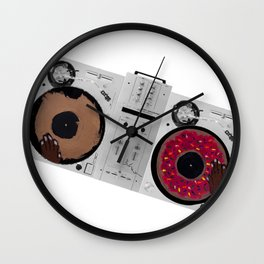 J Dilnuts Wall Clock