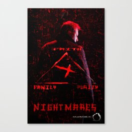 Nightmares movie  poster Canvas Print