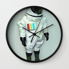 Mr CMYK Wall Clock