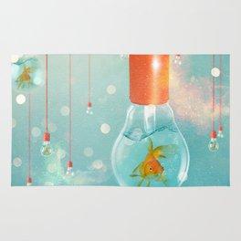 Ideas and Goldfish ... Rug