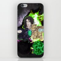 saga iPhone & iPod Skins featuring Legend of Sanctuary Saga by C_Jinebra