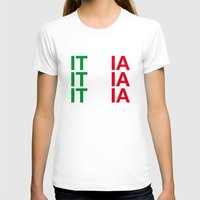 italy T-shirts featuring ITALY by eyesblau