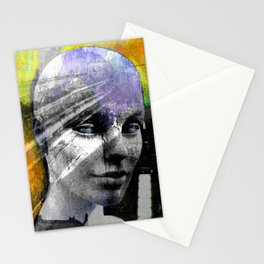 LIVING DOLL PORTRAIT Stationery Cards