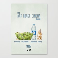 Art House cinema Canvas Print