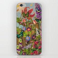 Butterfly Garden iPhone Skin