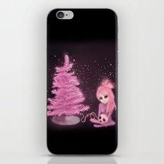 Intercosmic Christmas in Pink iPhone & iPod Skin