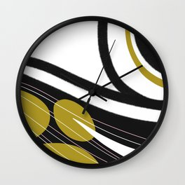 Line out Wall Clock