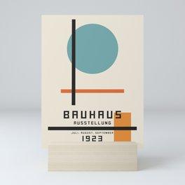 Vintage poster-Bauhaus Juli, August, September 1923. Mini Art Print