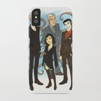 suits iPhone & iPod Cases featuring Suits by FindChaos