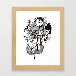 Lost track of time... Framed Art Print
