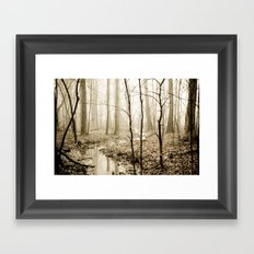 Flow With Life Framed Art Print