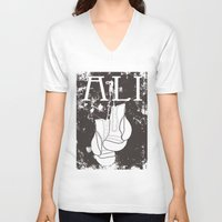 ali gulec V-neck T-shirts featuring ALI by FLIPO