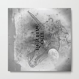 Unicorn: Untamed Soul Metal Print