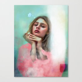 Thinking of not you Canvas Print