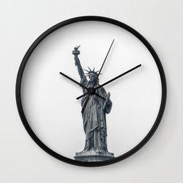 New York City Statue of Liberty Wall Clock