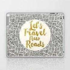 Let's Travel New Roads Laptop & iPad Skin