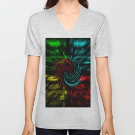 Abstract perfection 47 Unisex V-Neck