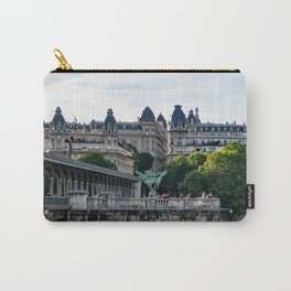 Pont de Bir-Hakeim over the Seine - Paris, France Carry-All Pouch