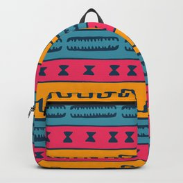 African Style Pattern Backpack
