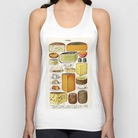 cheese Tank Tops featuring CHEESE by Kathead Tarot/David Rivera