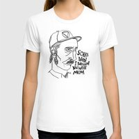dad T-shirts featuring SORRY, DAD! by Josh LaFayette