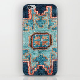 Karabakh  Antique South Caucasus Azerbaijan Rug iPhone Skin